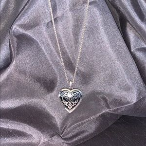 Brighton heart shaped necklace